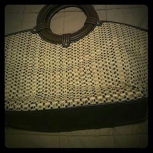 Croft & Barrow Straw Handbag